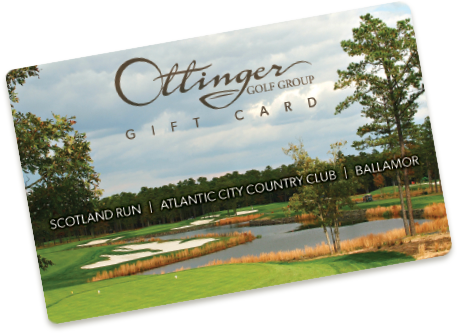 Ottinger Golf Group Gift Card 2
